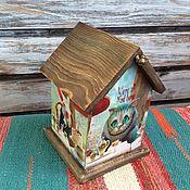 Для дома и интерьера handmade. Livemaster - original item Cheshire and Company, Tea House, Alice. Handmade.