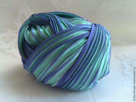 Для украшений ручной работы. Ярмарка Мастеров - ручная работа. Купить №56 Марокко  Ленты Шибори Silk Ribbons Shibori. Handmade.