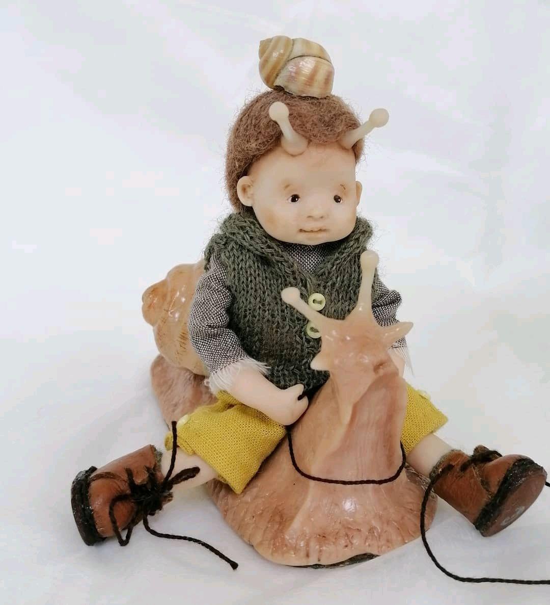 Тотем Улитка, Интерьерная кукла, Волоколамск,  Фото №1