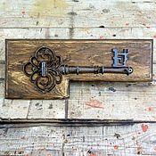 Для дома и интерьера ручной работы. Ярмарка Мастеров - ручная работа Вешалки настенные / ключницы. Handmade.
