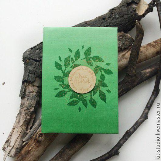 Блокнот `Green` для рисунков и записей