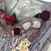 """Одежда ручной работы. Ярмарка Мастеров - ручная работа Блузка-топ """"Виктория"""".. Handmade."""
