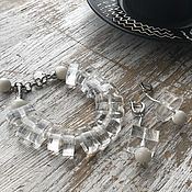"Украшения handmade. Livemaster - original item Set of jewelry ""White Lady"". Handmade."