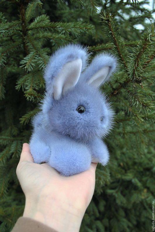 Куклы и игрушки ручной работы. Ярмарка Мастеров - ручная работа. Купить Кролик Кроха. Handmade. Серый, ooak