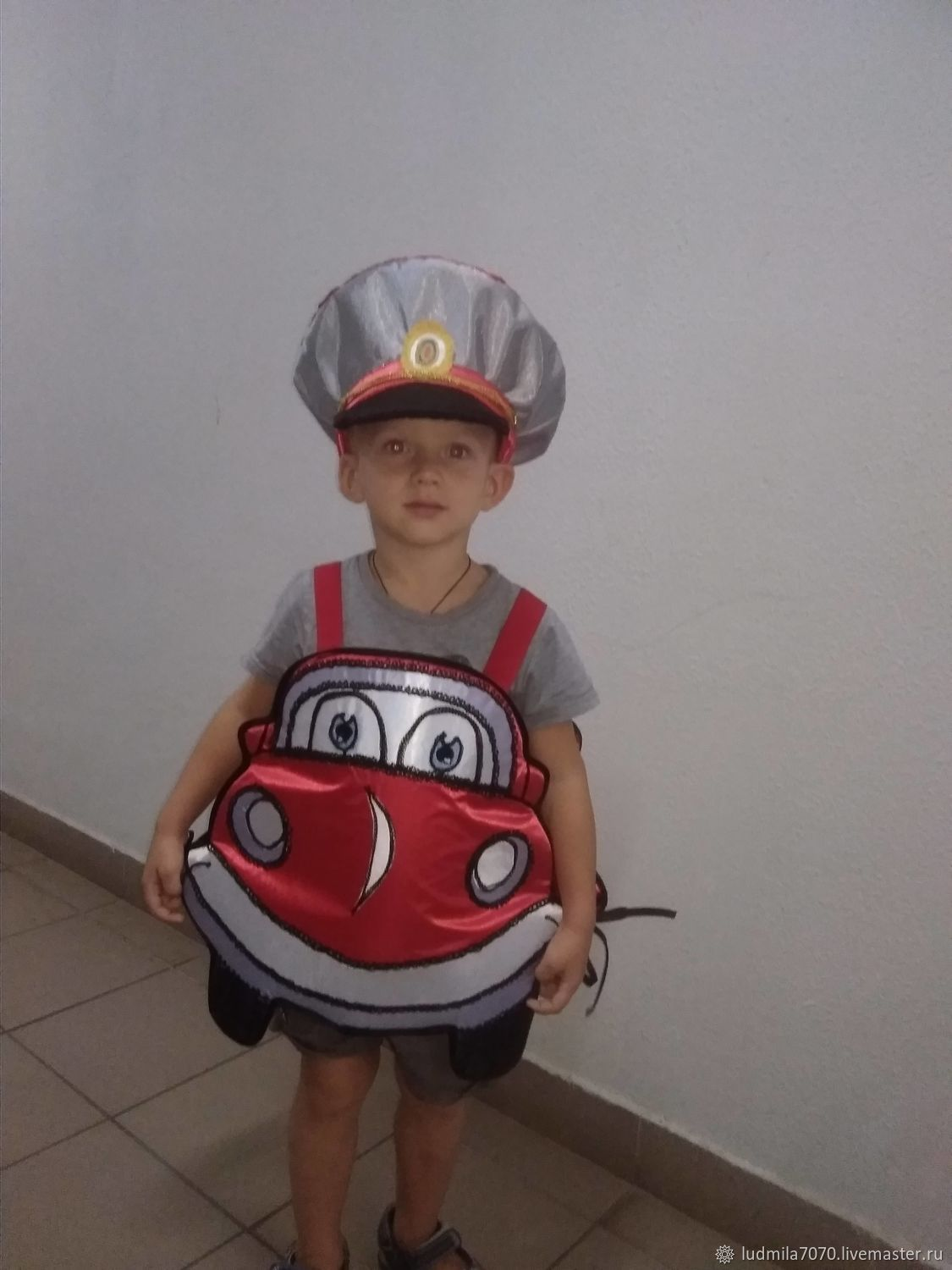 Costume Fun Car red, Carnival costumes for children, Moscow,  Фото №1