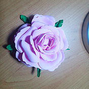 """Брошь-булавка ручной работы. Ярмарка Мастеров - ручная работа Брошь из фоамирана """"Роза"""". Handmade."""