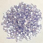 Материалы для творчества handmade. Livemaster - original item 10 grams of 3 mm glass Beads 1447 satin lilac Toho Japanese seed beads Toho. Handmade.