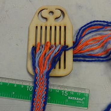 Материалы для творчества ручной работы. Ярмарка Мастеров - ручная работа Бердо на 15 нитей  - инструменты для ткачества поясов. Handmade.