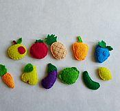 """Куклы и игрушки ручной работы. Ярмарка Мастеров - ручная работа Книжка """"Сад огород"""". Handmade."""