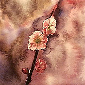 Картины и панно handmade. Livemaster - original item A little about spring watercolor painting. Handmade.