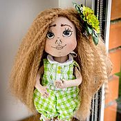 Dolls handmade. Livemaster - original item Doll textile handmade. Handmade.