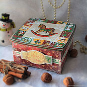 Для дома и интерьера handmade. Livemaster - original item Box Christmas