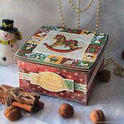 Для дома и интерьера handmade. Livemaster - original item Box Christmas