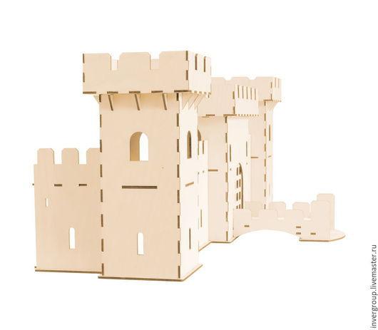 Кукольный дом ручной работы. Ярмарка Мастеров - ручная работа. Купить Средневековая крепость (разборная). Handmade. Игрушки, крепость