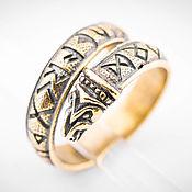 Украшения ручной работы. Ярмарка Мастеров - ручная работа Кольцо оберег, перстень из бронзы, славянский талисман. Handmade.