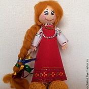 Куклы и игрушки ручной работы. Ярмарка Мастеров - ручная работа Кукла Машенька. Handmade.
