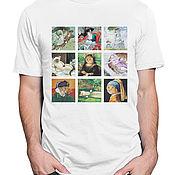 Мужская одежда handmade. Livemaster - original item Cotton T-shirt