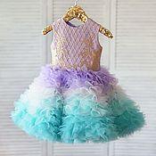 """Платье ручной работы. Ярмарка Мастеров - ручная работа Пышное платье для девочки """"Ариэль"""". Handmade."""