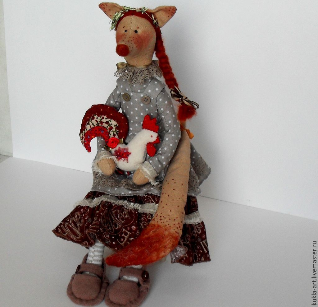 The Fox and the Cock, Tilda Toys, Monchegorsk,  Фото №1