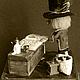 Миниатюра ручной работы. Книги и кофе. Мастерская 'Камыши'. Интернет-магазин Ярмарка Мастеров. Книги, кукольный домик, шерсть для валяния