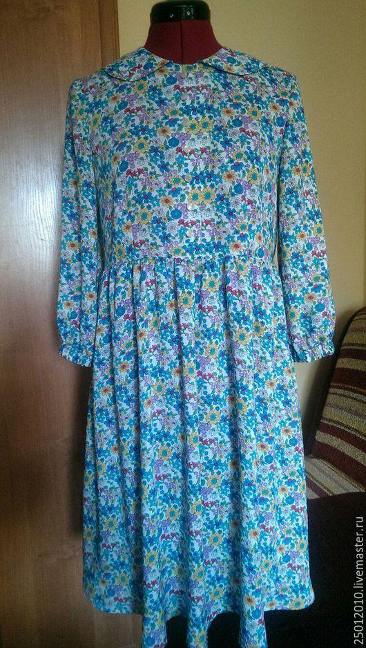 Платья ручной работы. Ярмарка Мастеров - ручная работа. Купить Платье полевые цветы .. Handmade. Белый, платье летнее