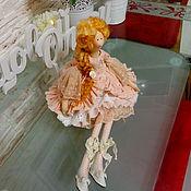 Куклы и игрушки ручной работы. Ярмарка Мастеров - ручная работа Интерьерная куколка с стиле Тильда.. Handmade.