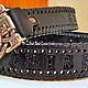 Пояса, ремни ручной работы. Кожаный ремень именной. AV-Leather (Andrey Volovikov). Интернет-магазин Ярмарка Мастеров.