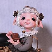 Куклы и игрушки ручной работы. Ярмарка Мастеров - ручная работа Кофея(Кофейное Зёрнышко). Handmade.