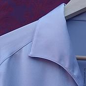 Одежда ручной работы. Ярмарка Мастеров - ручная работа Мужская рубашка из натурального шелка. Handmade.