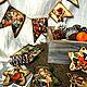 Новый год 2017 ручной работы. Плоские деревянные новогодние игрушки-подвески. Ольга Смирнова. Ярмарка Мастеров. Новогодние игрушки, дерево