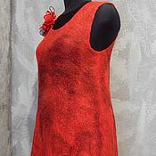 """Одежда ручной работы. Ярмарка Мастеров - ручная работа Валяное платье-туника """"Непокорная"""". Handmade."""