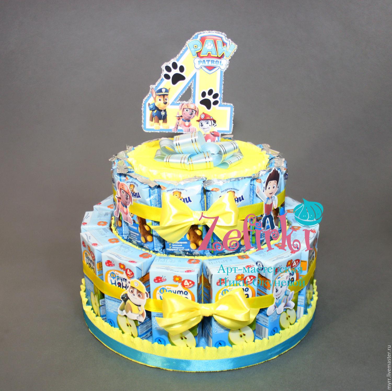 Торт из барни своими руками пошаговое фото для начинающих