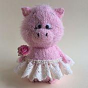 Куклы и игрушки ручной работы. Ярмарка Мастеров - ручная работа Свинка.. Handmade.