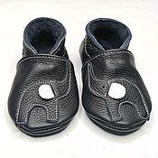 Одежда детская handmade. Livemaster - original item Elephant baby shoes, Genuine Leather Infant Slippers,Ebooba. Handmade.
