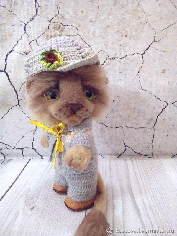 Teddy Animals: Lyosha the lion cub, Teddy Toys, Chrysostom,  Фото №1