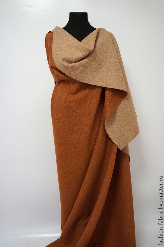 Шитье ручной работы. Ярмарка Мастеров - ручная работа. Купить Ткань Двусторонняя вареная шерсть 13101505 Цена за метр. Handmade.