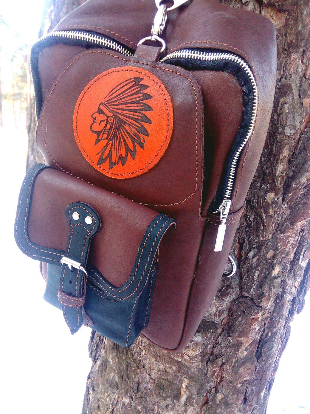 Рюкзак из натуральной кожи, Рюкзаки, Бийск,  Фото №1