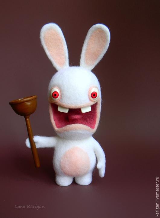 Игрушки животные, ручной работы. Ярмарка Мастеров - ручная работа. Купить Rayman Бешеные кролики. Handmade. Герой видеоигр, прикол
