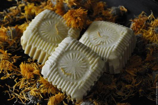 Натуральное детское мыло `Мамино Солнышко` с нуля
