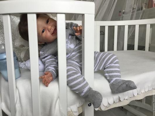 Куклы-младенцы и reborn ручной работы. Ярмарка Мастеров - ручная работа. Купить Maizie by Andrea Arcello. Handmade. Бежевый