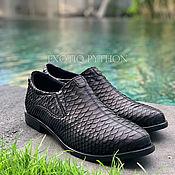 Обувь ручной работы handmade. Livemaster - original item Shoes from Python. Handmade.