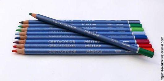 Другие виды рукоделия ручной работы. Ярмарка Мастеров - ручная работа. Купить Акварельные карандаши CRETACOLOR по штучно.. Handmade. Разноцветный
