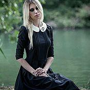 """Одежда ручной работы. Ярмарка Мастеров - ручная работа Платье """"Long black dress"""". Handmade."""