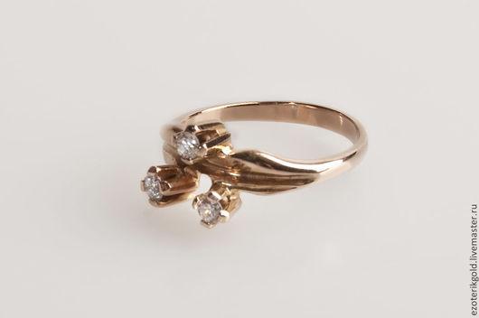 """Кольца ручной работы. Ярмарка Мастеров - ручная работа. Купить Кольцо """"Триединство"""". Handmade. Разноцветный, золото, драгоценные камни, эзотерика"""