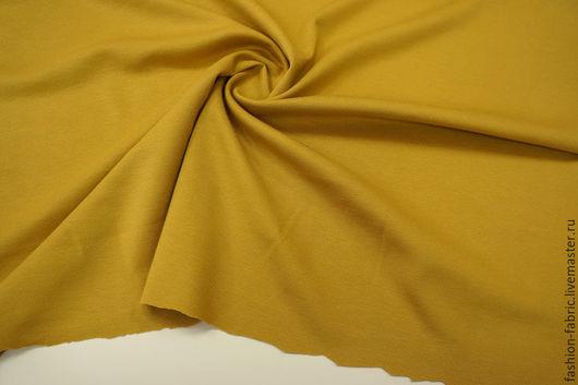 Шитье ручной работы. Ярмарка Мастеров - ручная работа. Купить Ткань Джерси 1071507 Цена за метр. Handmade. Желтый