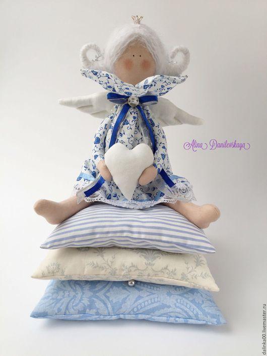 Куклы Тильды ручной работы. Ярмарка Мастеров - ручная работа. Купить Принцесса на горошине по мотивам сказки Снежная Королева. Handmade.
