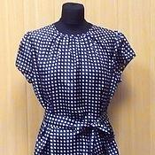 Одежда ручной работы. Ярмарка Мастеров - ручная работа Шелковая блузка с поясом. Handmade.