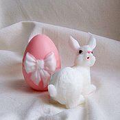 """Косметика ручной работы. Ярмарка Мастеров - ручная работа Мыло """"Пасхальный кролик"""". Handmade."""