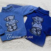 Работы для детей, ручной работы. Ярмарка Мастеров - ручная работа свитерочки Мишка Тедди. Handmade.