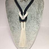 Украшения handmade. Livemaster - original item Plait knitted beaded. Handmade.
